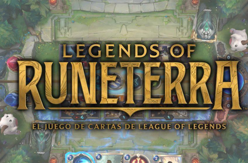 Legends of Runeterra beta abierta disponible